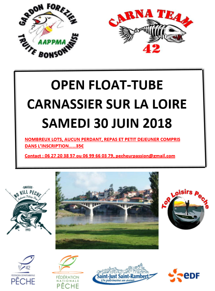 Affiche OPEN FLOAT TUBE